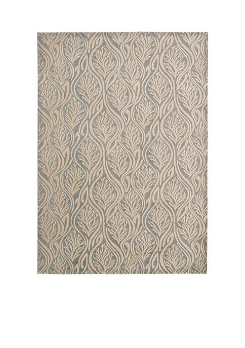 Hollywood Shim Paradise Cover Light Grey Area Rug