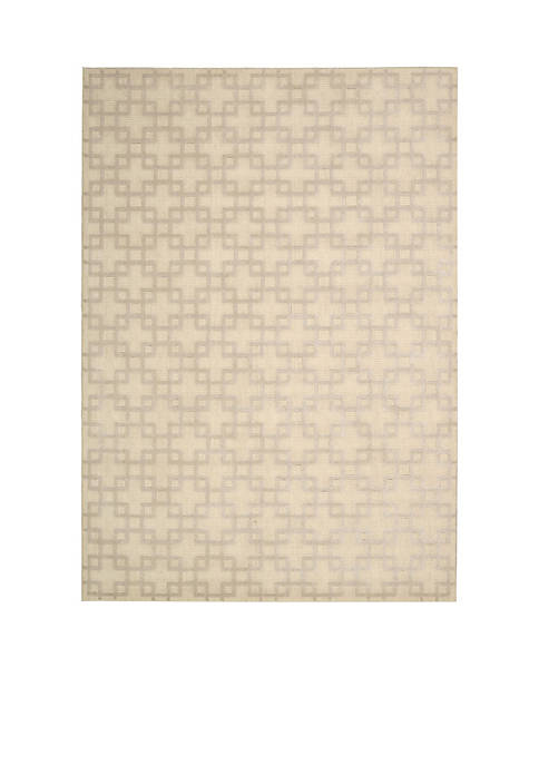 Hollywood Shim Times Square Bisque Area Rug 8