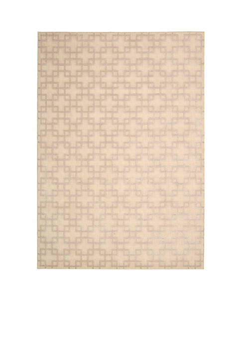 Hollywood Shim Times Square Bisque Area Rug 59""