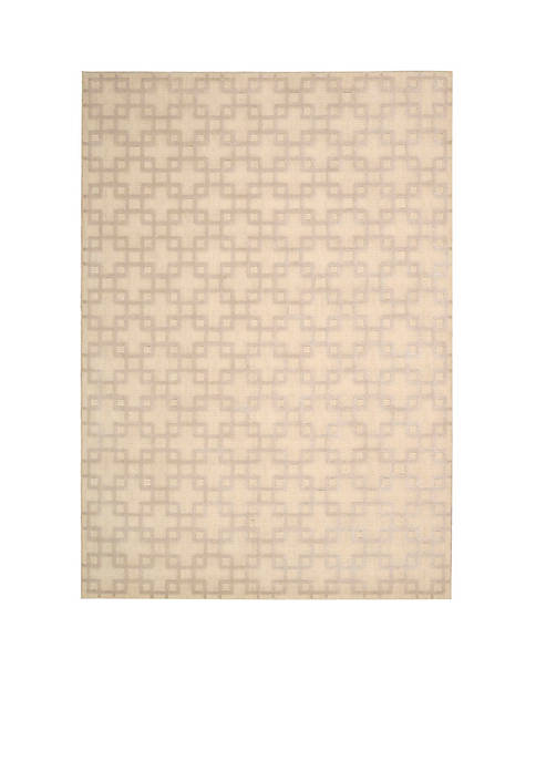 Hollywood Shim Times Square Bisque Area Rug 75""