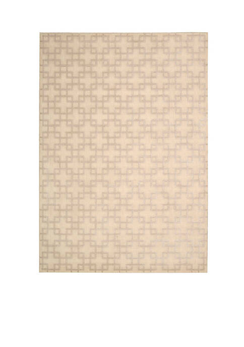 Hollywood Shim Times Square Bisque Area Rug 1010""