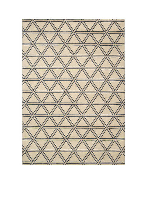 Hollywood Shim Metro Crossing Bisque Area Rug 8