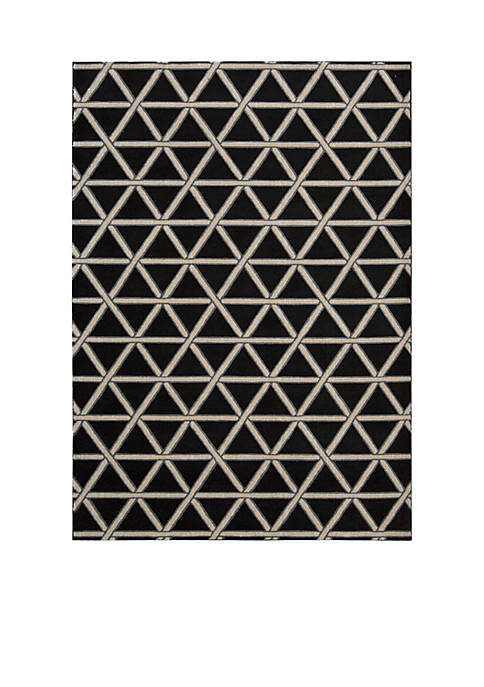 Hollywood Shim Metro Crossing Onyx Area Rug 8