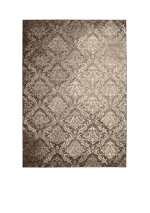Santa Barbara Royal Shimmer Beige Area Rug 59""