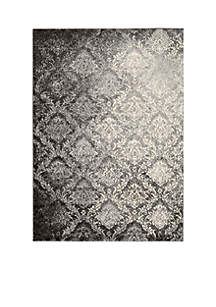 Santa Barbara Royal Shimmer Grey Area Rug 5'9\