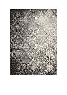 Santa Barbara Royal Shimmer Grey Area Rug - Online Only