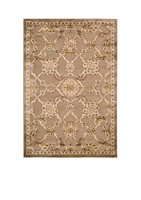 "Bel Air Buckingham Brown Area Rug 36"" x"