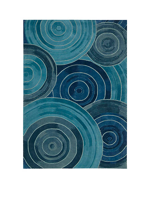 Palisades Ovation Denim Area Rug 8 x 106""