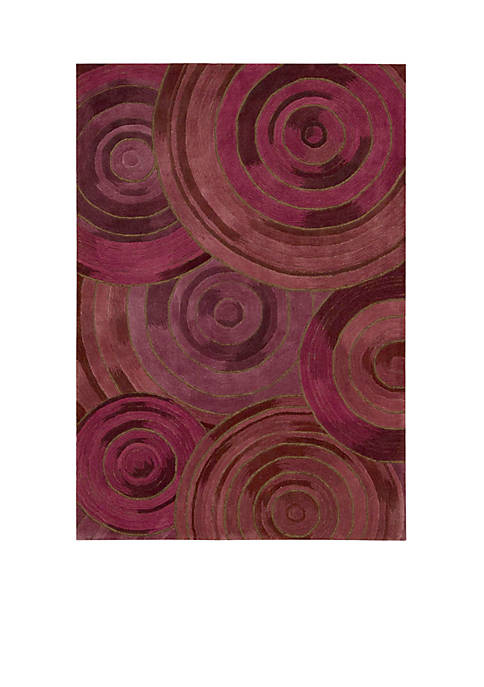 Palisades Ovation Plum Area Rug 5 x 76""