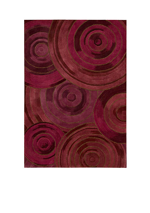Palisades Ovation Plum Area Rug 8 x 106""
