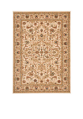 """Lumiere Royal Countryside Beige Area Rug 23"""" x 79"""""""