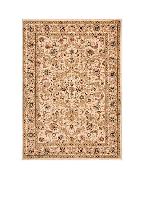 "Lumiere Royal Countryside Beige Area Rug 23"" x"