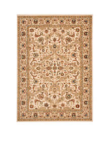 Lumiere Royal Countryside Beige Area Rug - Online Only