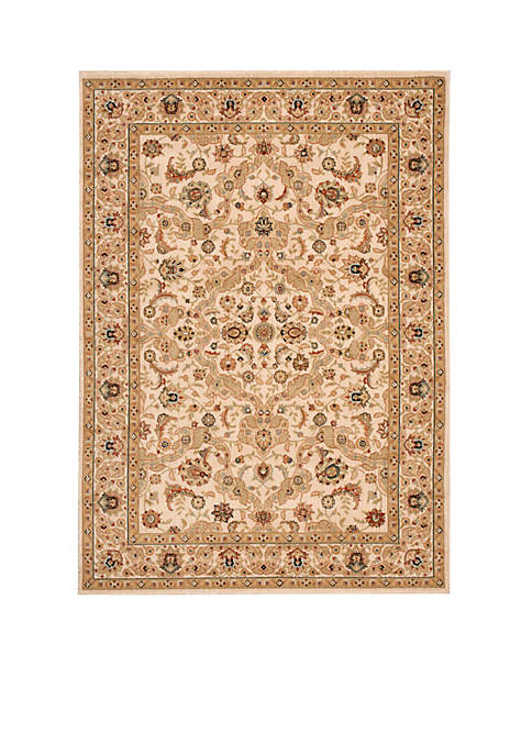 "Lumiere Royal Countryside Beige Area Rug 36"" x"
