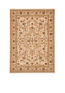 Lumiere Royal Countryside Beige Area Rug 3'6\