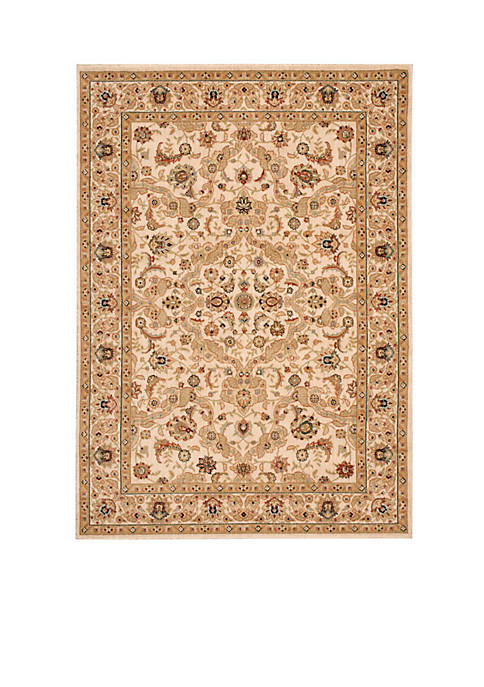 "Lumiere Royal Countryside Beige Area Rug 53"" x"