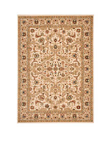 Lumiere Royal Countryside Beige Area Rug 5'3\