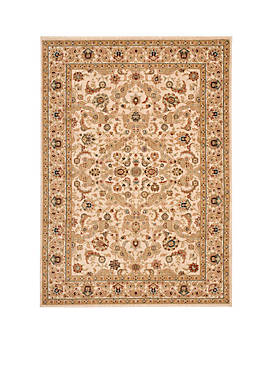 """Lumiere Royal Countryside Beige Area Rug 79"""" x 1010"""""""