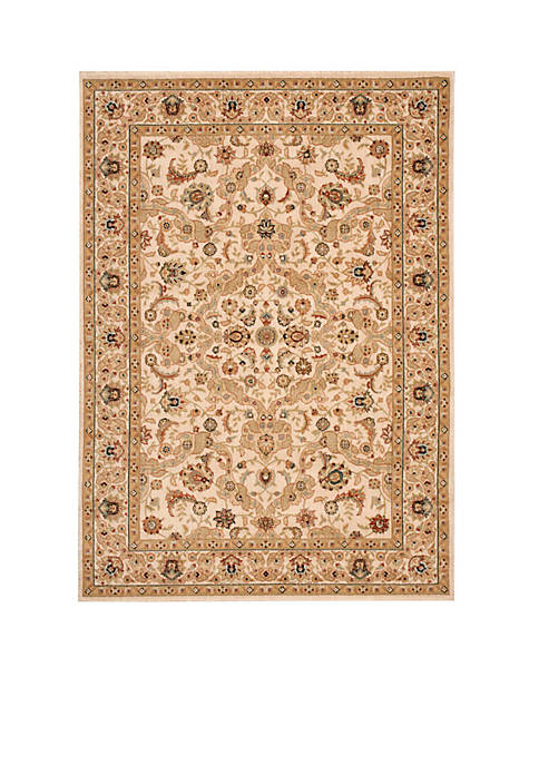 "Lumiere Royal Countryside Beige Area Rug 79"" x"