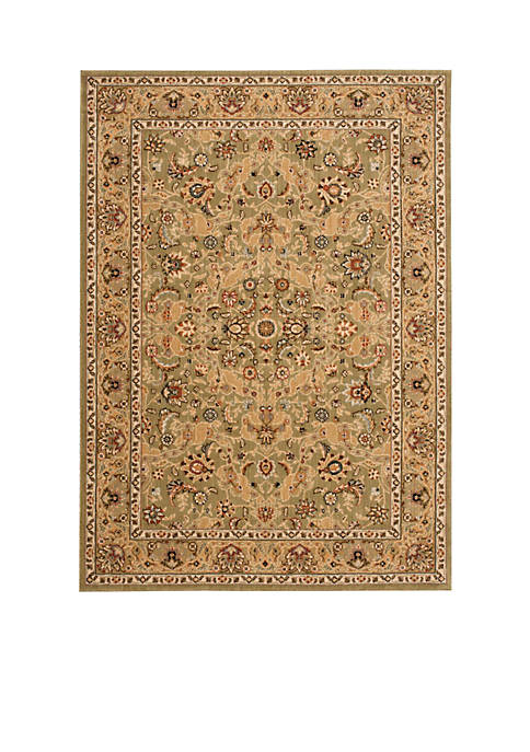"Lumiere Royal Countryside Sage Area Rug 36"" x"