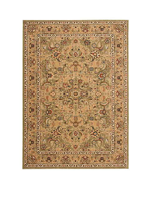 "Lumiere Royal Countryside Sage Area Rug 79"" x"