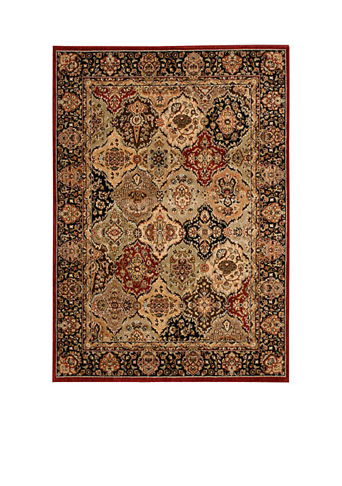 "Lumiere Persian Tapestry Multicolor Area Rug 53"" x"