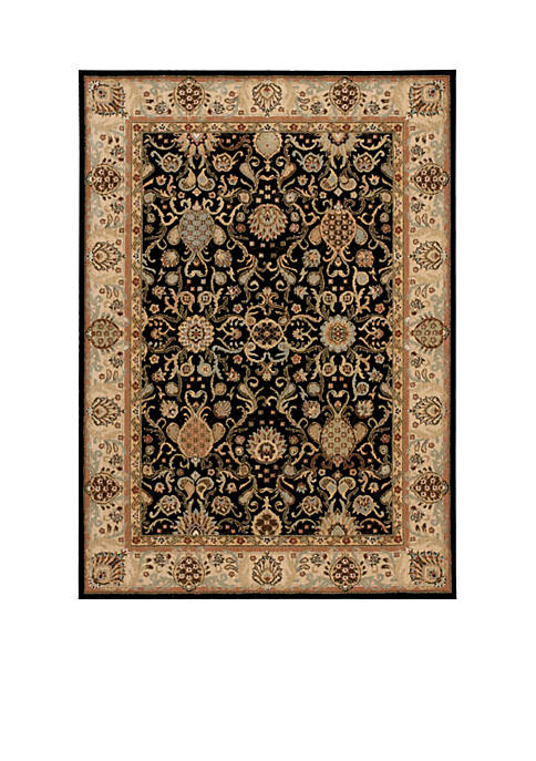 "Lumiere Stateroom Onyx Area Rug 23"" x 8"