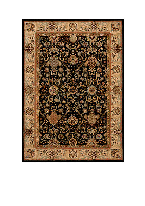 "Lumiere Stateroom Onyx Area Rug 79"" x 1010"""