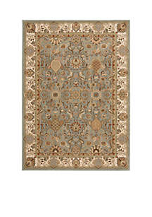 Lumiere Stateroom Slate Blue Area Rug - Online Only