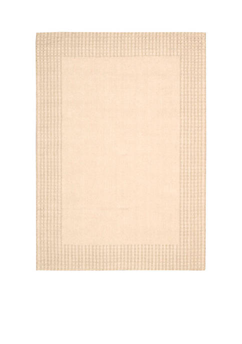 "Cottage Grove Bisque Area Rug 59"" x 39"""