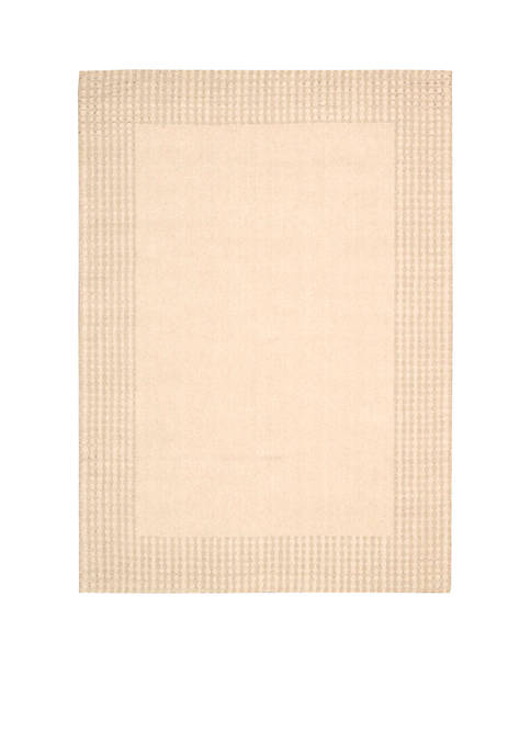 """Cottage Grove Bisque Area Rug 106"""" x 8"""