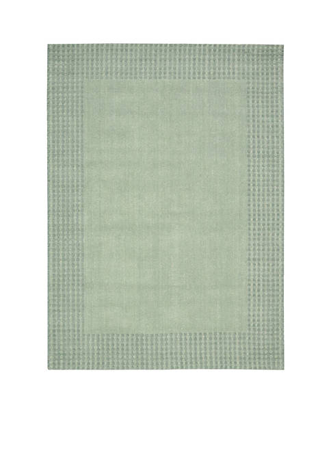 "Nourison Cottage Grove Mist Area Rug 76"" x"