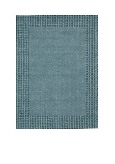 "Cottage Grove Ocean Area Rug 59"" x 39"""