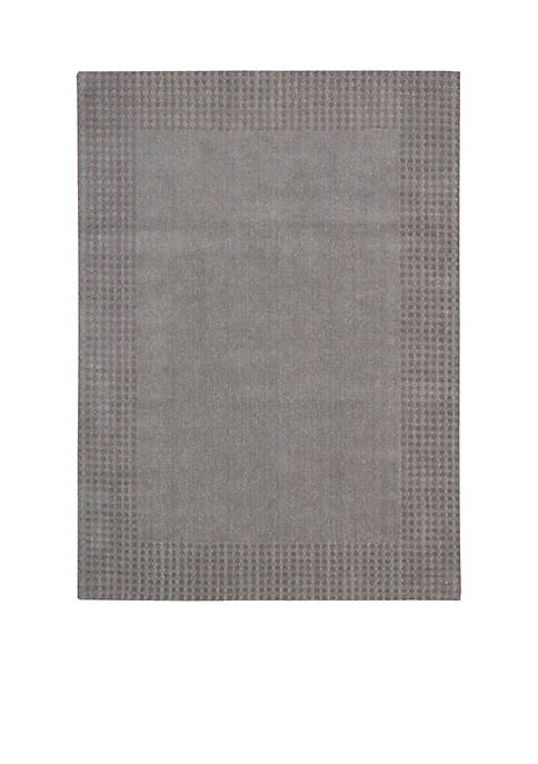 "Cottage Grove Steel Area Rug 76"" x 23"""