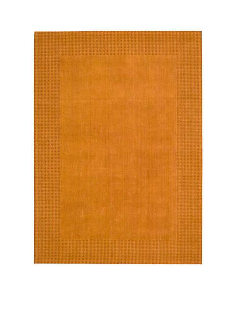 "Nourison Cottage Grove Terracotta Area Rug 106"" x"