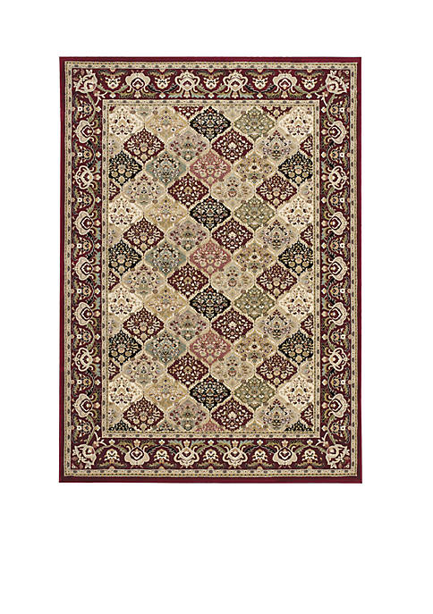 "Nourison Antiquities Multicolor Area Rug 22"" x 76"""
