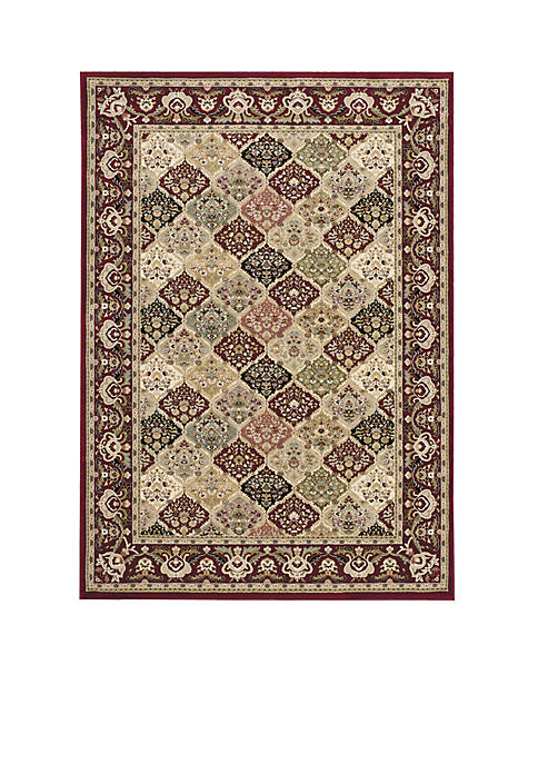"Antiquities Multicolor Area Rug 53"" x 74"""