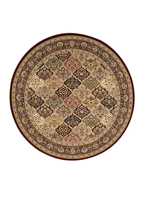 "Nourison Antiquities Multicolor Area Rug 53"" Round"