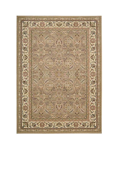 "Antiquities Cream Area Rug 76"" x 22"""