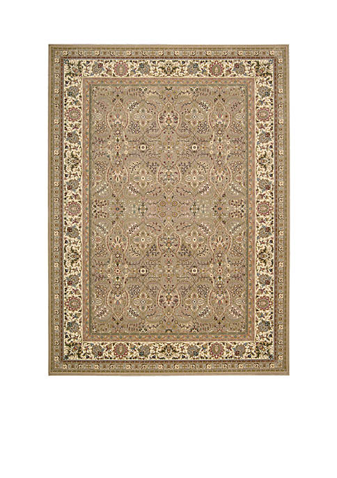 "Nourison Antiquities Cream Area Rug 59"" x 39"""