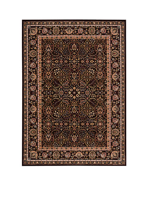 "Antiquities Espresso Area Rug 76"" x 22"""
