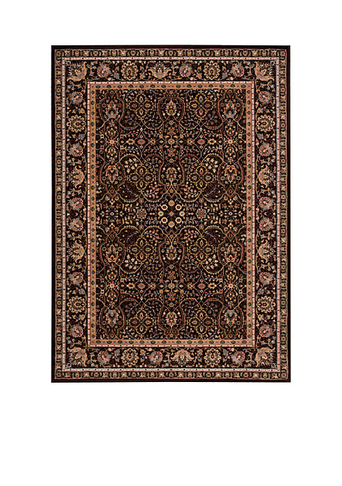 "Antiquities Espresso Area Rug 59"" x 39"""