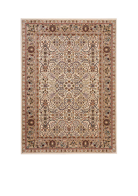 "Antiquities Ivory Area Rug 59"" x 39"""