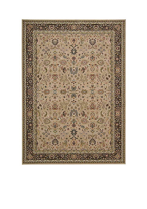 "Nourison Antiquities Cream Area Rug 76"" x 22"""