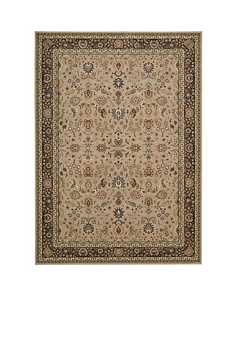 "Antiquities Cream Area Rug 59"" x 39"""