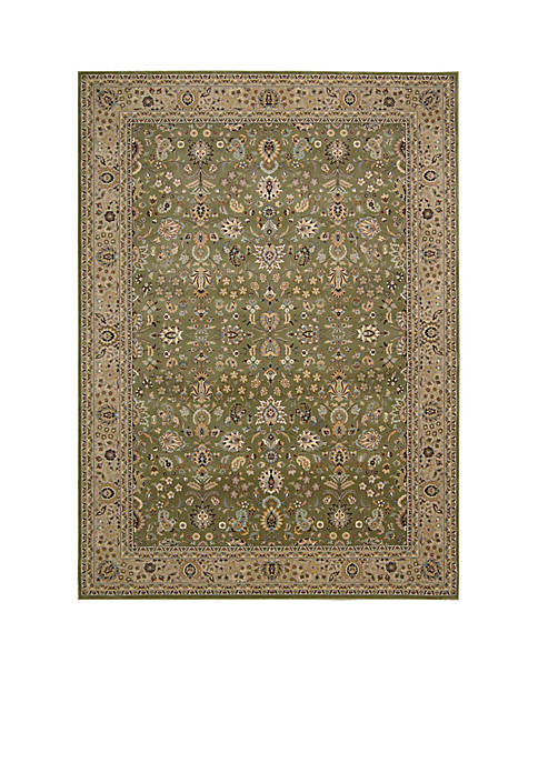 "Nourison Antiquities Sage Area Rug 76"" x 22"""