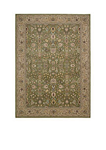 Antiquities Sage Area Rug - Online Only