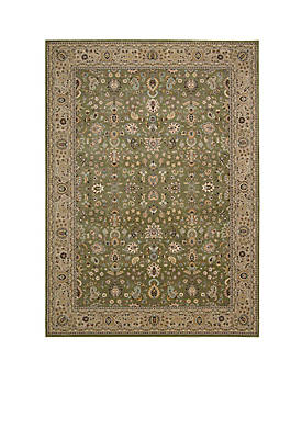 "Antiquities Sage Area Rug 59"" x 39"""