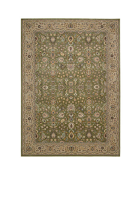 "Nourison Antiquities Sage Area Rug 59"" x 39"""