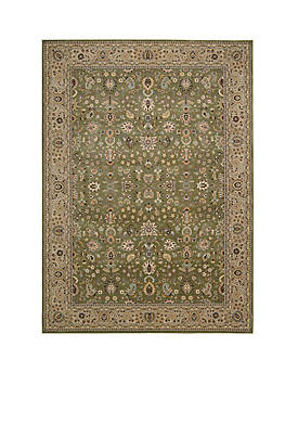 "Antiquities Sage Area Rug 74"" x 53"""